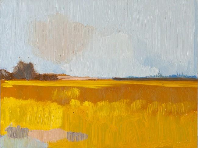 Frank Dekkers Schilderij Landschap